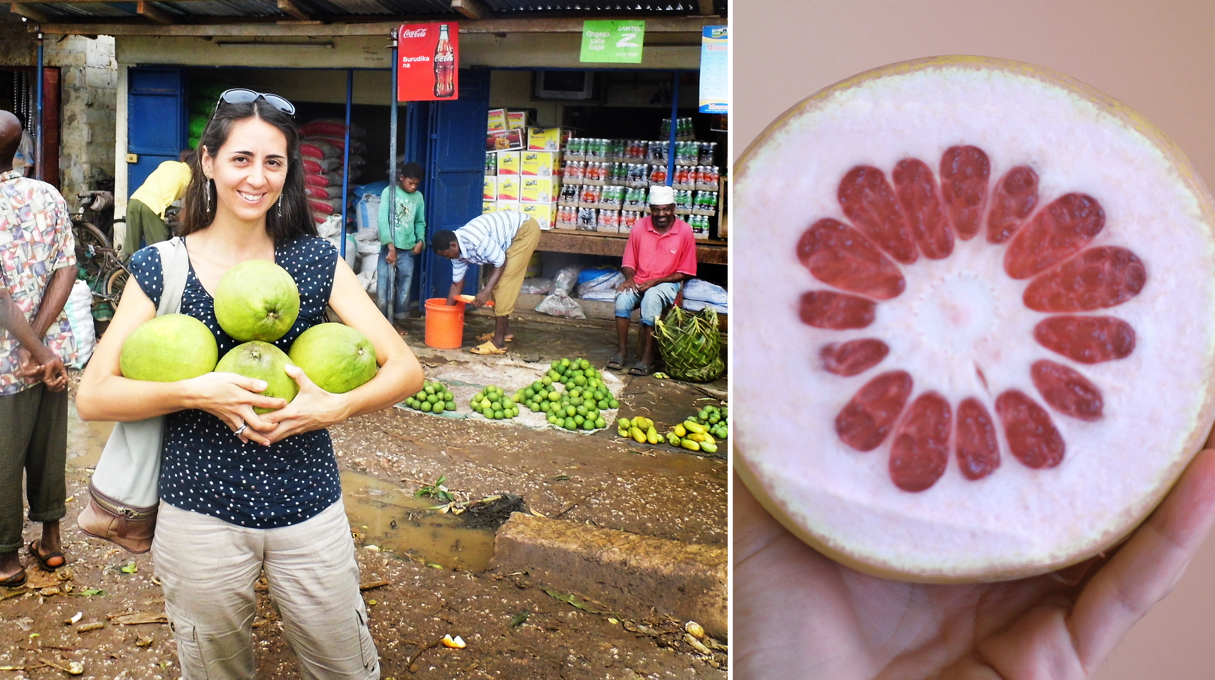 Pink Pomelo fruit , by far my favourite from the citrus variety