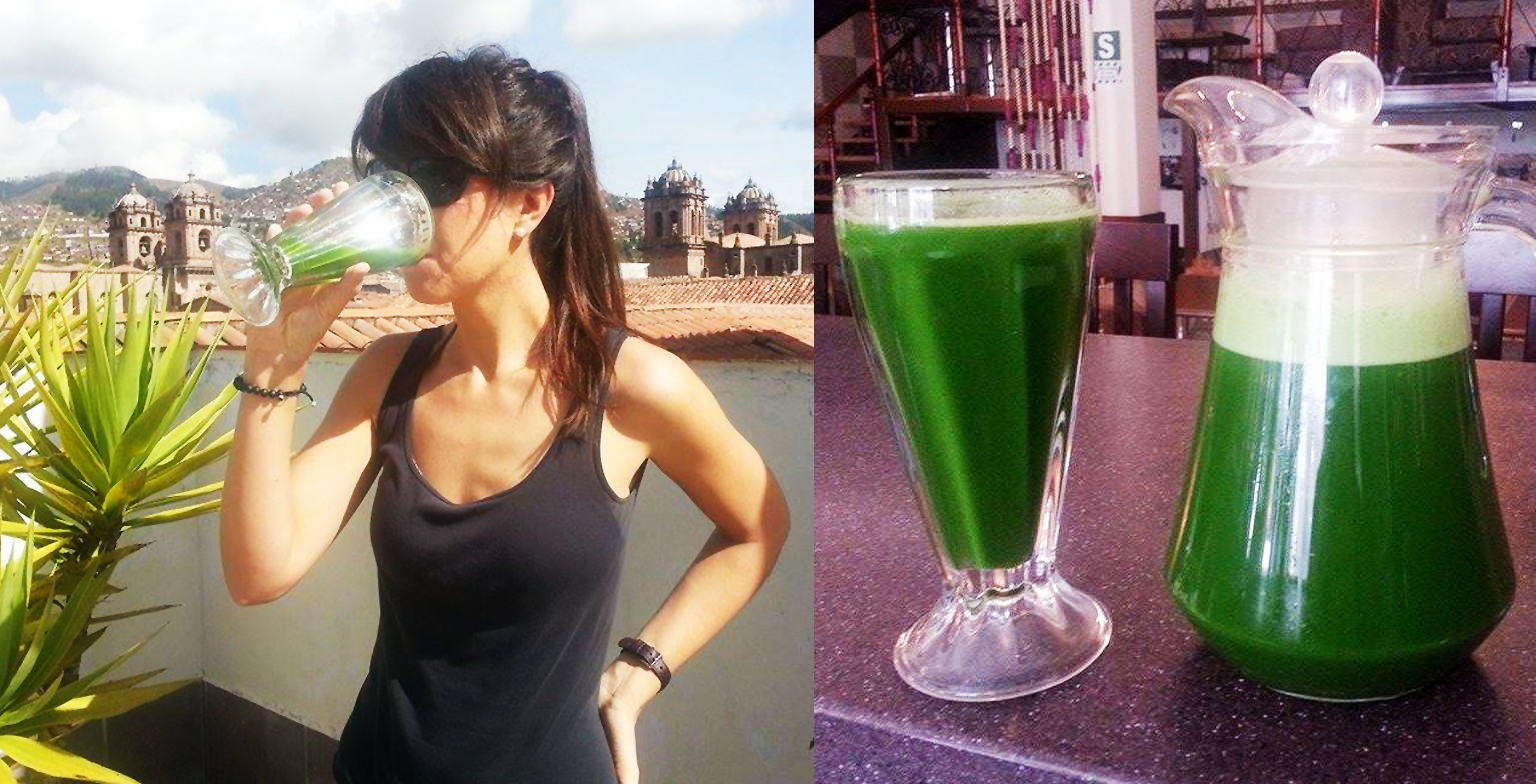 5 Green Juices a day for 7 days