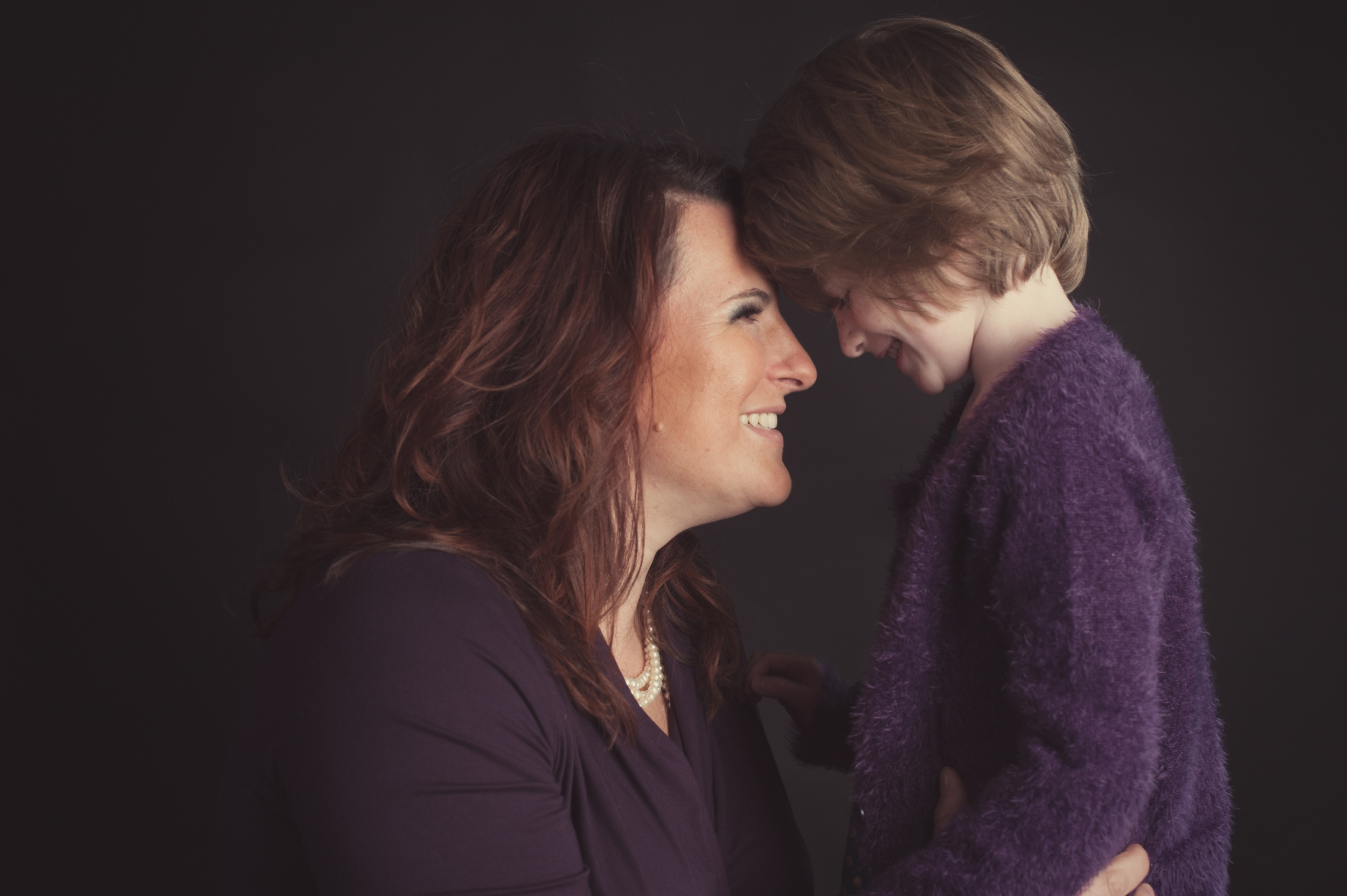 Mother Daughter Beauty Glamour Photo | Nomee Photography | Chicago Studio Portrait Photographer