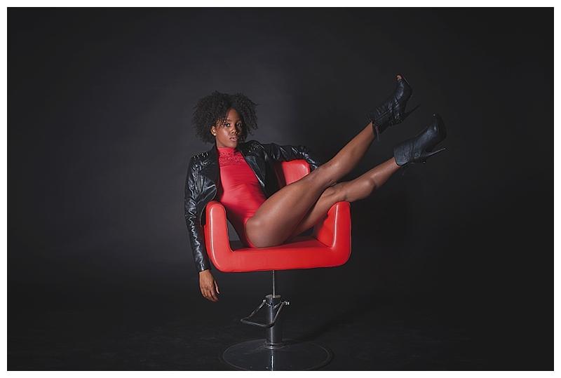 Model/Dancer: Paige Fraser ,Make-up: Chanelle Bell , Stylist: Stiletto Boss