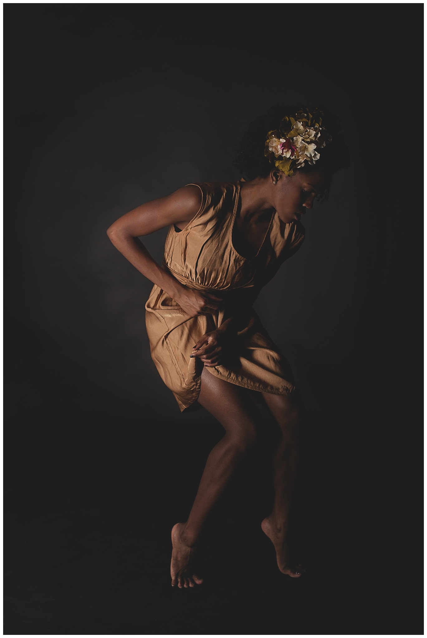 Professional dancer  Paige Fraser . Hair and Make-up:Chanelle Bell, Stylist:  Stiletto Boss