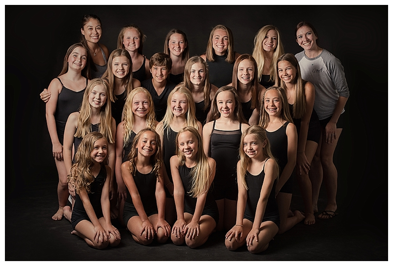 The Moxie Project (left to right) Row 1: Brittany Amoroso, Clancy, Breccan, Olivia, Jessica, Alanna Kletcke. Row 2: Claire, Anne, Skylar, Carly, Mary, Maddy. Row 3: Brooke, Kate, Chloe, Annsley, Jane. Row 4: Jilly, Jennifer, Madelyn, Heidi