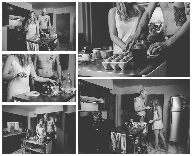 Nomee Photography | lifestyle photographer | Chicago West Town | Helping Her Cook