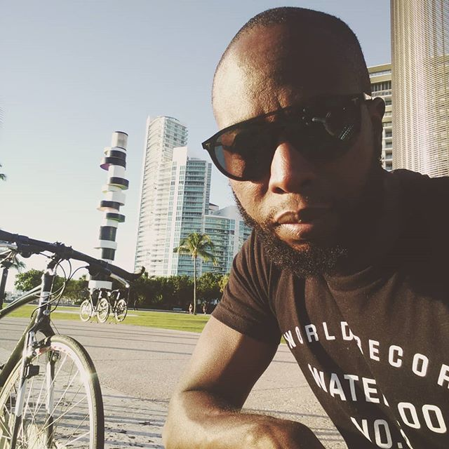 Had a great day enjoying this great weather 🚵 #cycling #cyclist #bicycle #miami #miamibeach #southbeach