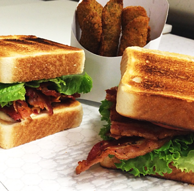 BLT & Fried Pickles