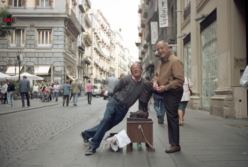The Last Sciuscià and a Customer