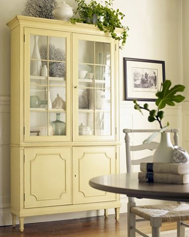 Painted cabinet from centsationalgirl.com