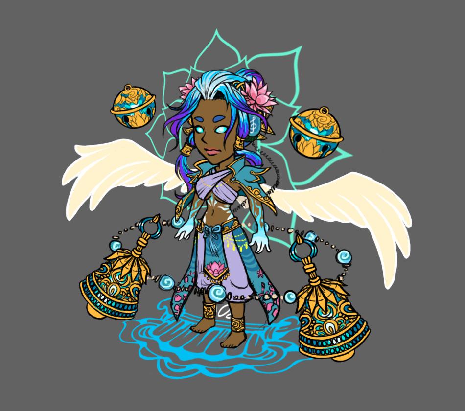 Goddess Character Concept