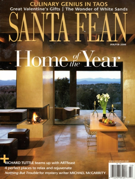Santa Fean Jan/Feb 2006   Home of the Year Winner Interior Design - Marty Wilkinson