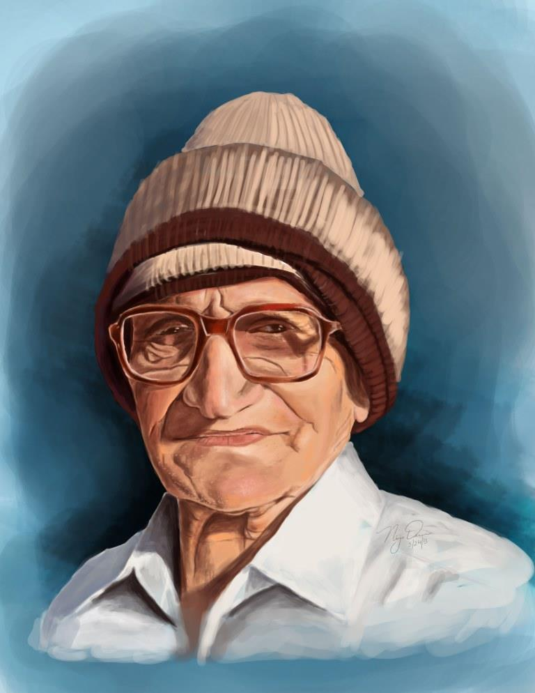 Digital Painting of my grandfather