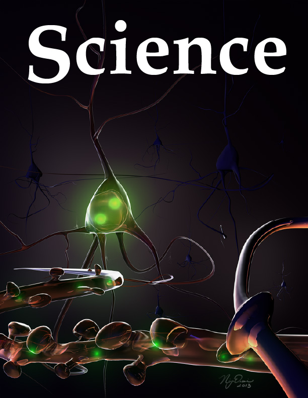 Pitch the cover of Science Magazine