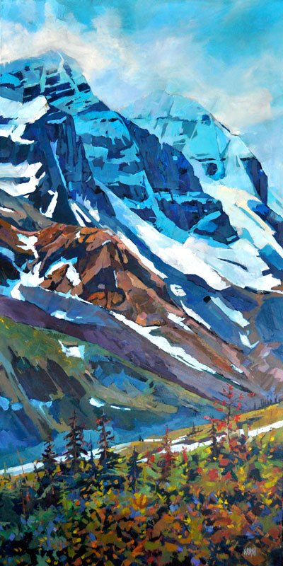 SOLD - Mount Andromeda 30x60 Mountain Galleries, Banff AB
