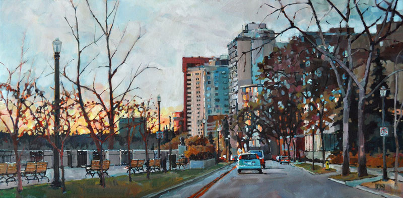 SOLD - Sunset on 100th Ave, Edmonton