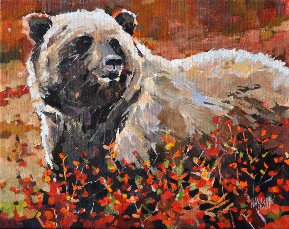 Fall Forage 11 x 14