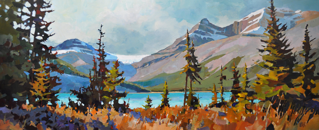 Bow Lake Approach 24 x 60