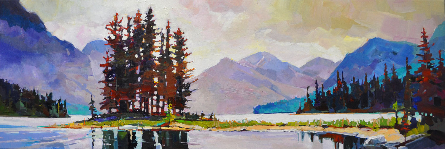 Marks of Maligne 12 x 36