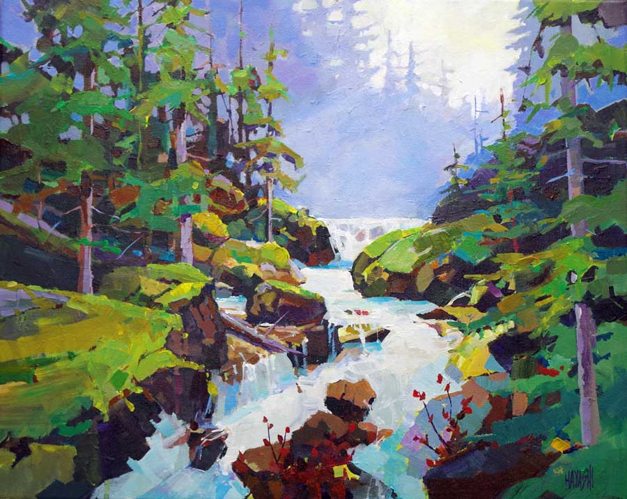 Rainforest Runoff 16x20