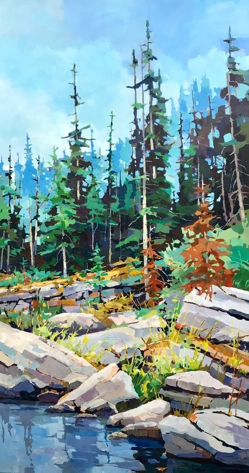 Boulders to Branches 24x48