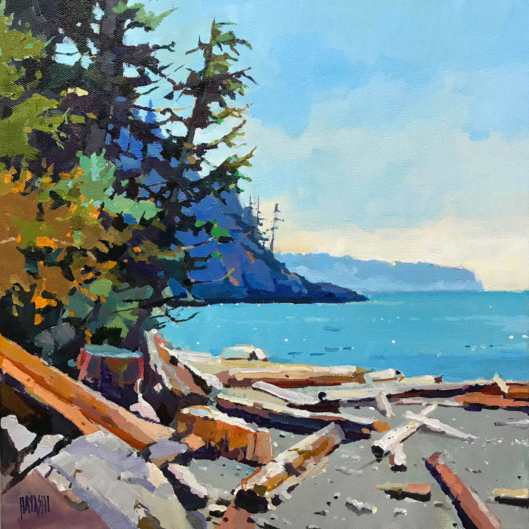 Beached Logs 12 x 12