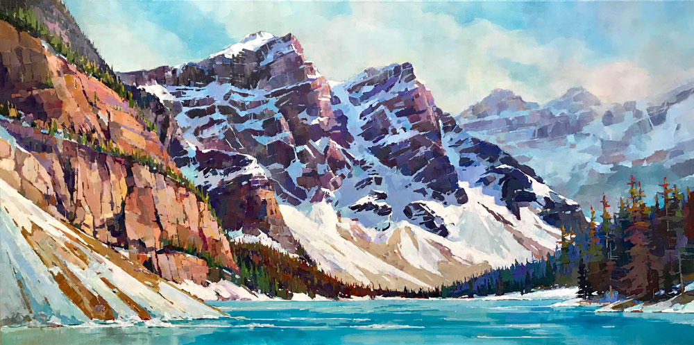 Open Water at Moraine 30 x 60