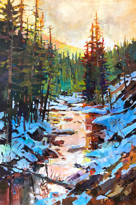April Light 24 x 36