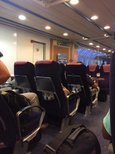 High Speed Ferry to Santorini