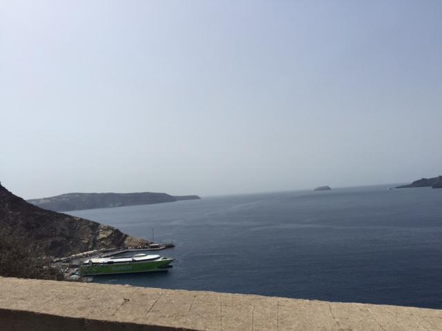 Santorini Arrival