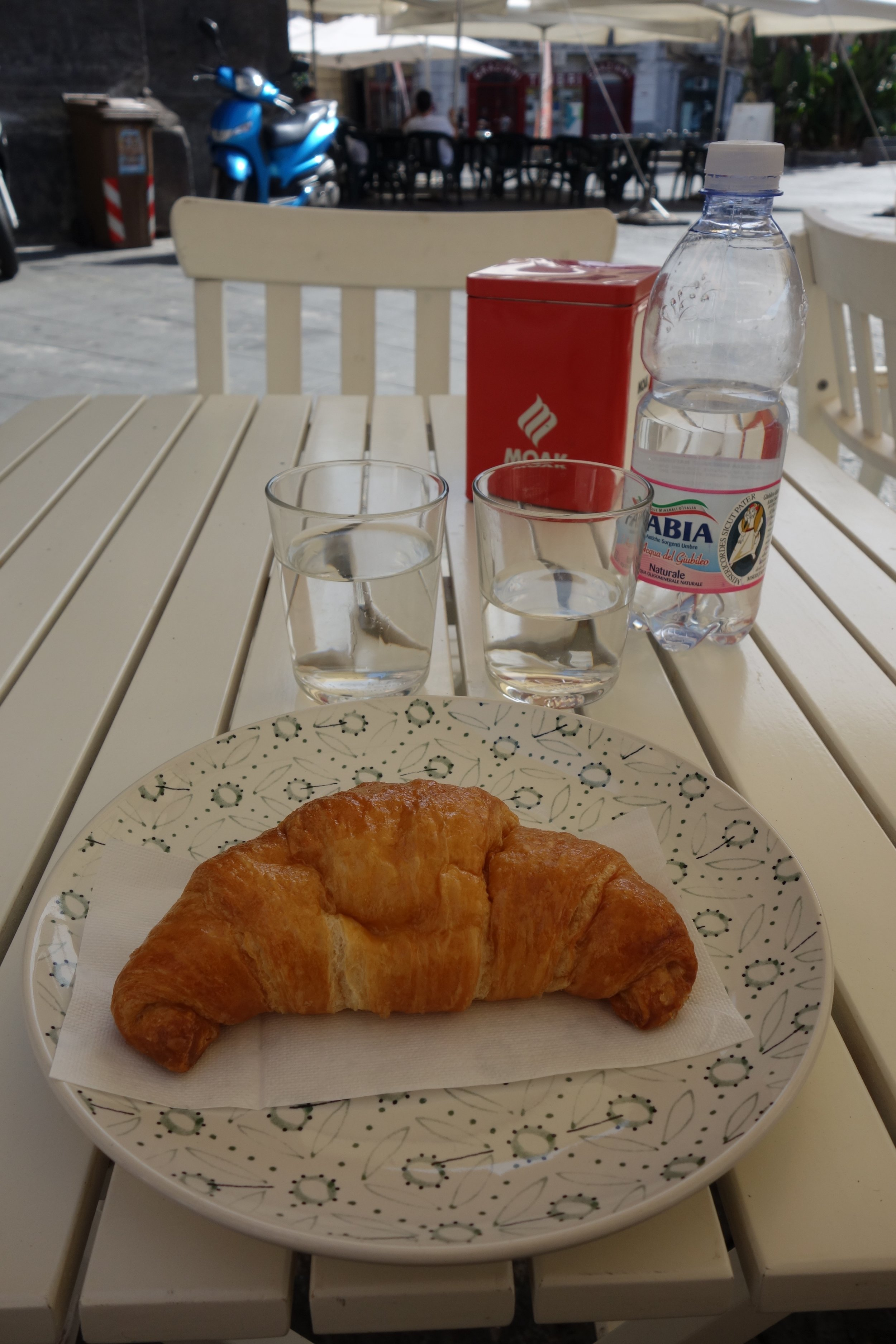 A VEGAN Croissant! OMG...it's the best croissant I've ever had.