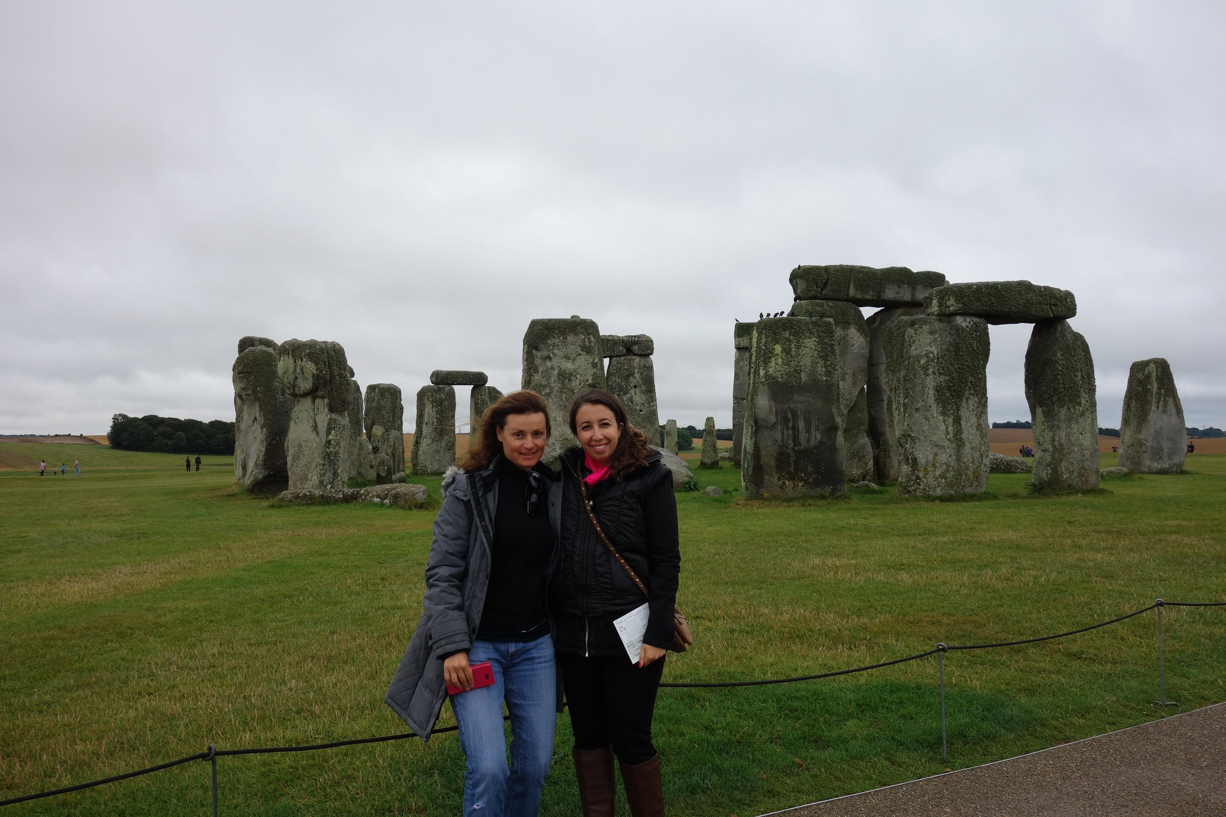 Claire and I at Stonehenge :)