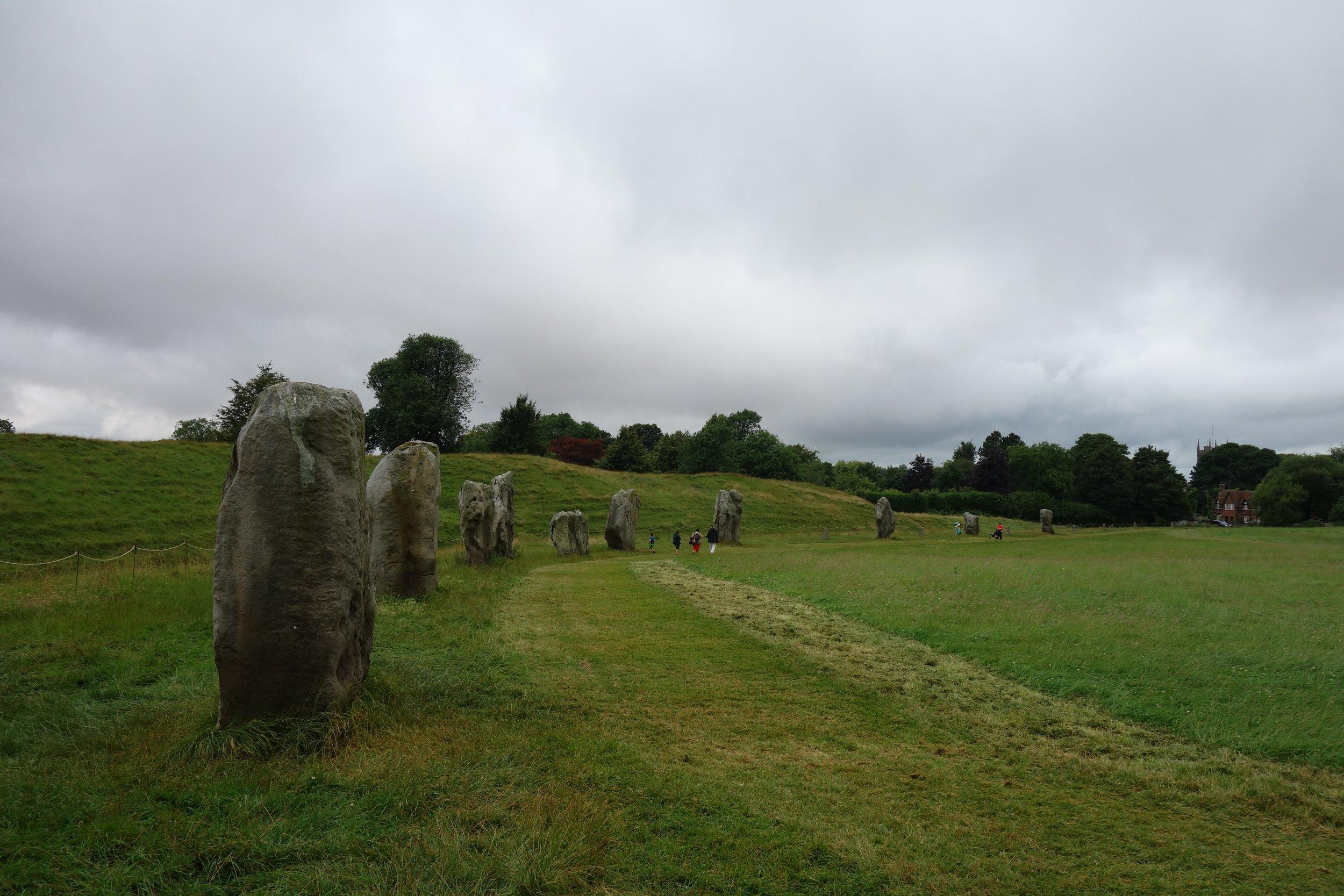 Avebury - the energy here was phenomenal.
