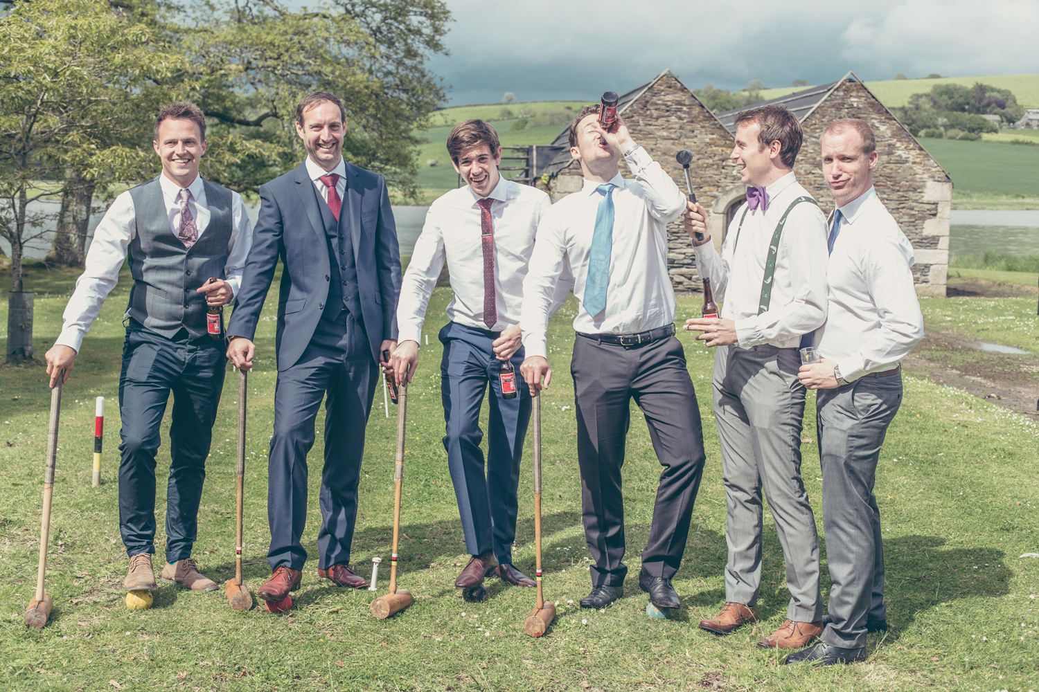 The wedding of Rebecca (Becky) English and Ben Major at Port Eliot, St Germans, Cornwall, UK on 24 May 2014.
