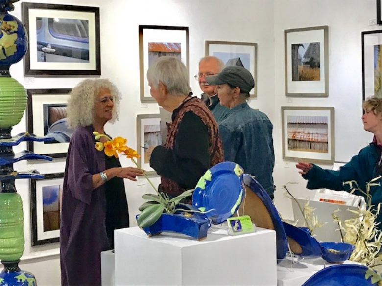 JOIN US! It's a wonderful opportunity to meet the artist in person in January's First Friday (January 5, 2018). All are welcome! Light refreshments served