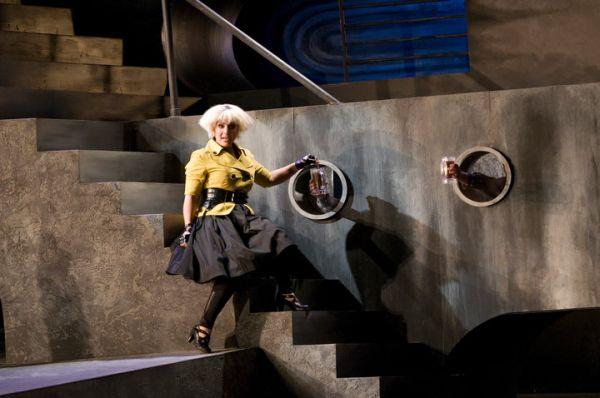 As Despina in  Cosi fan tutte.  Pacific Opera Victoria.  Photo: Emily Cooper