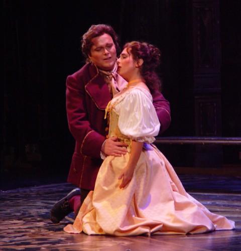 As Zerlina in  Don Giovanni  Opera Hamilton. Photo: Peter Oleskevich