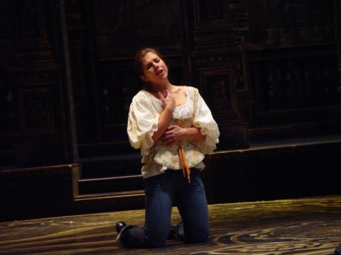 As Zerlina in  Don Giovanni  Opera Hamilton Photo: Peter Oleskevich