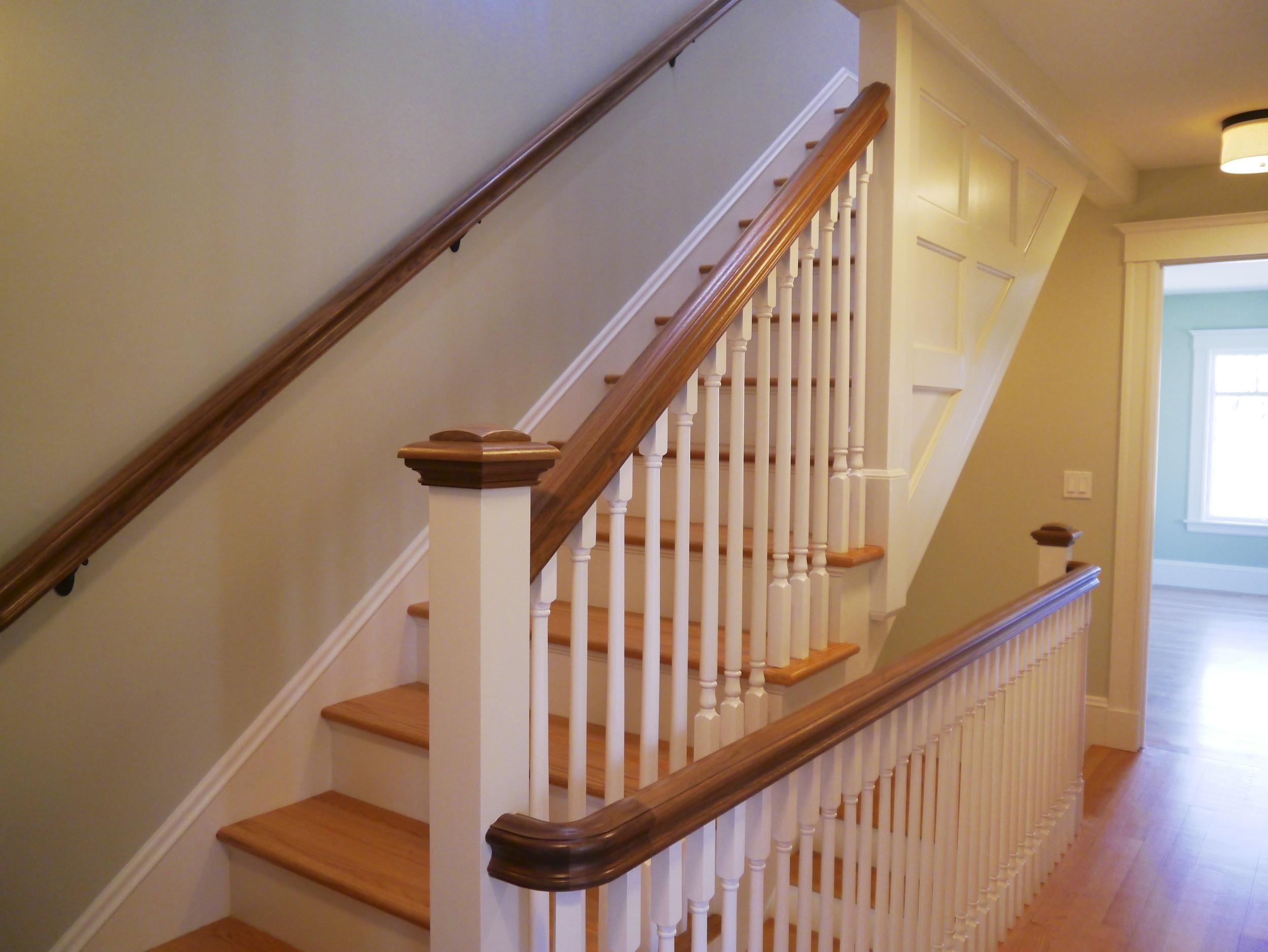 Baluster Stair detail Rhode Island