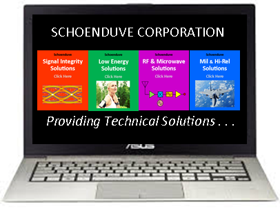 Schoenduve Corporation  Sales Representative for manufacturers of electronic components, sub-systems and systems including hardware, software, design/engineering and contract manufacturing solutions and services to customers in Northern California and Northern Nevada since 1986.  Expertise  Sales, Marketing, Product Development and Business Development for  Signal Integrity, Low Power, Low Energy, Biometric Solutions, Wearable Electronic Devices, Internet-of-Things, Bluetooth (LE), Wi-Fi, RF and Microwave.