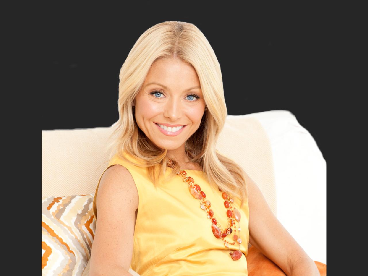 Kelly Ripa, actress, talk show host, TV producer