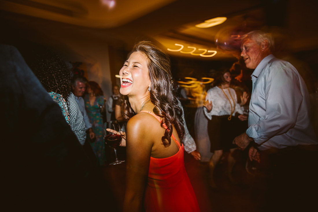 Lucie & Ed's fun and colourful St Kilda Yacht Club wedding by Fennel & Fox. Flash mob first dance