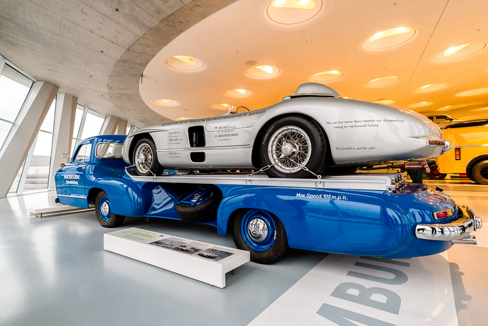 Mercedes-Benz Museum, Stuttgart, Germany