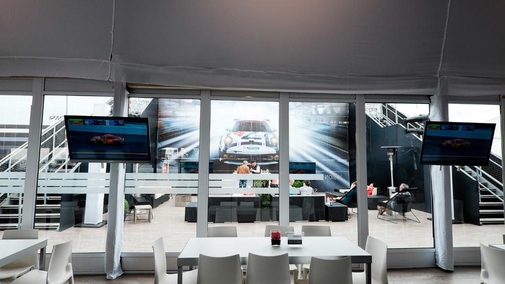 Porsche Motorsports VIP Compound