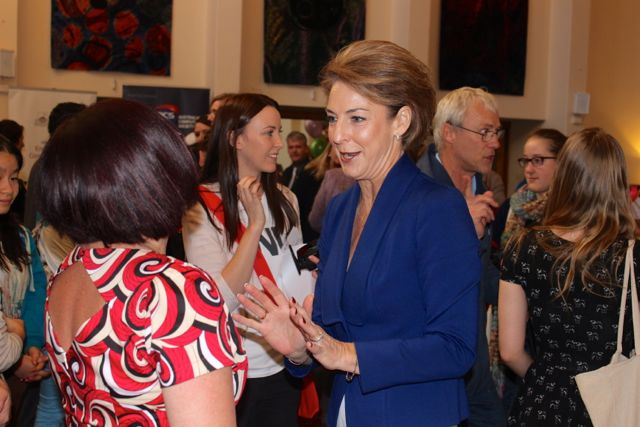 Annabel from ANU who did a brilliant job of organising the GetSET Girls in Engineering Day and let me crash the event with the book launch and the Senator Michaelia Cash.jpg