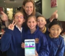 Reading Republic -  Primary School Winners -2016 Tech Girl Superheroes