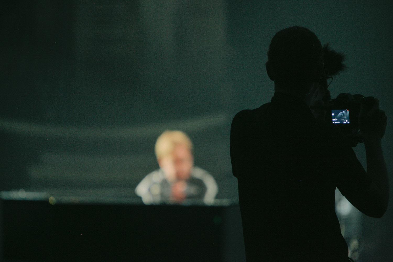Filming Elton John