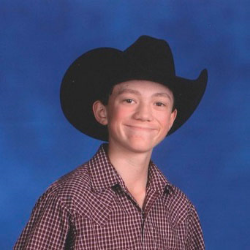 """""""Cowboy Forever"""" Seth Hermosa Middle School Custer County, SD"""