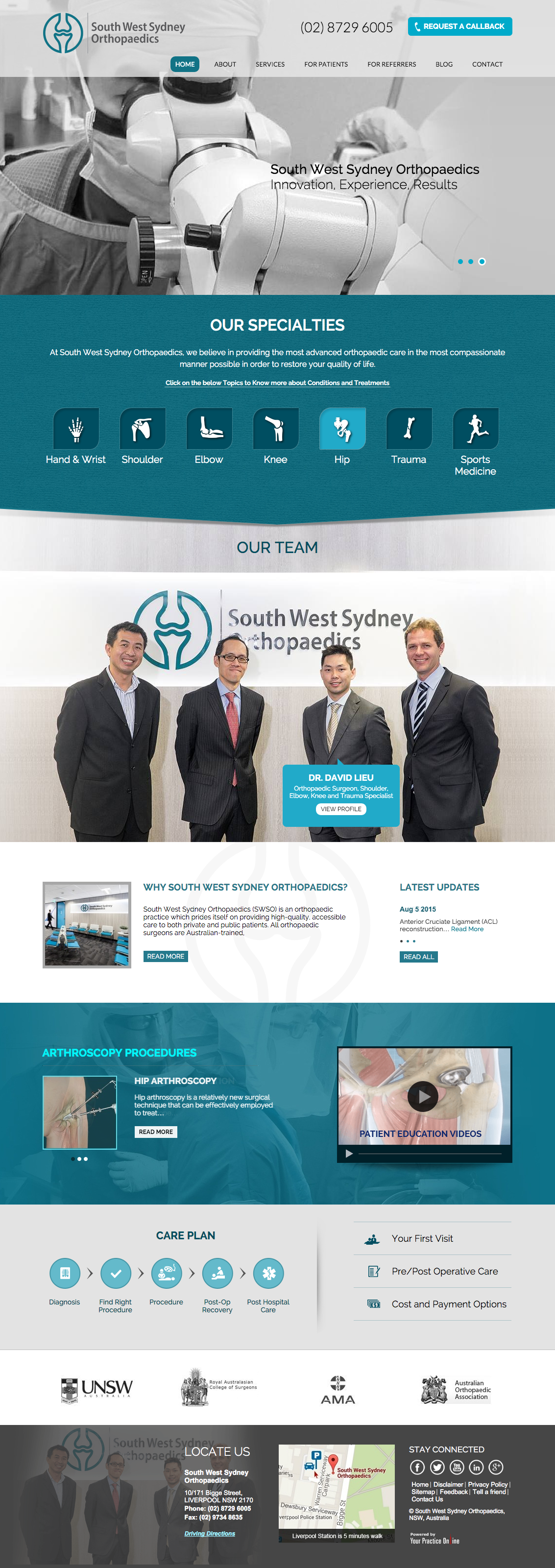 South West Sydney Orthopaedics  NSW  Australia.png