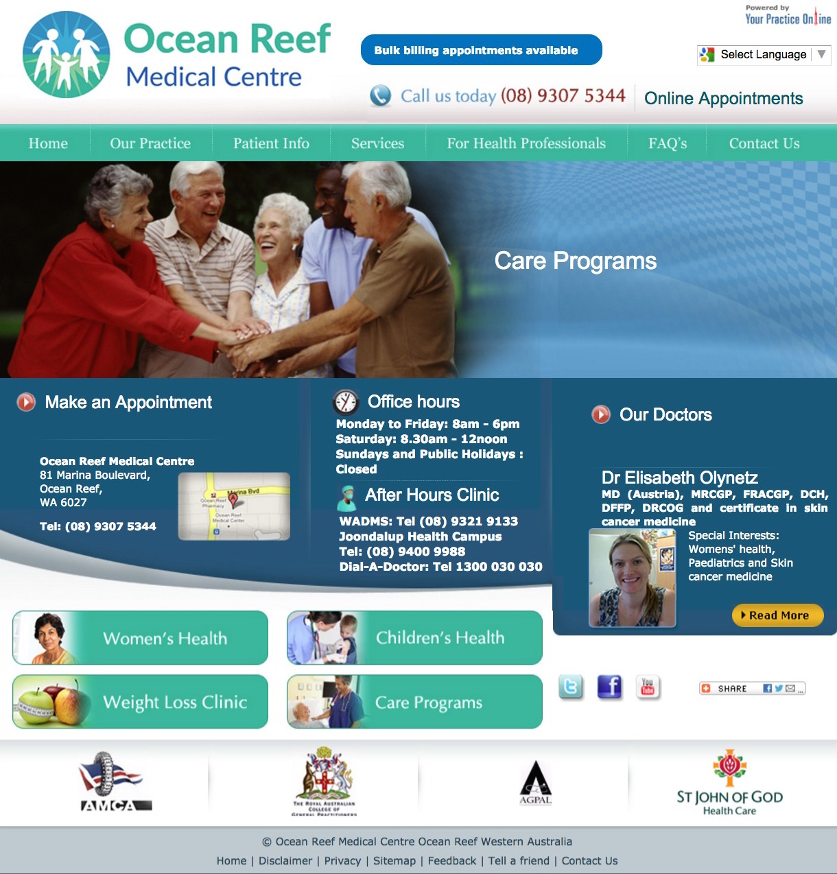 Ocean Reef Medical Centre  WA   Prostate Check  Nitrogen Therapy   Minor Surgery.jpeg