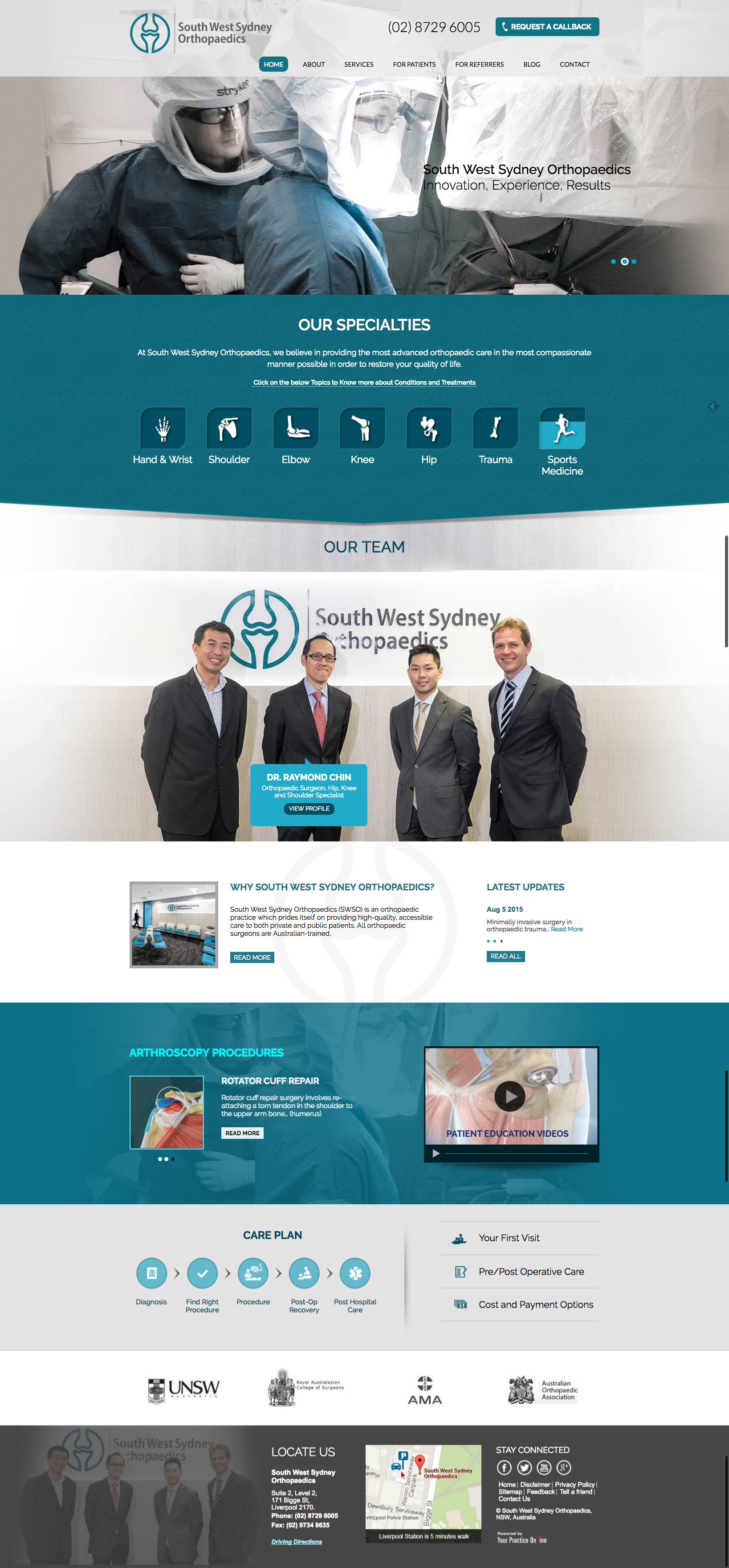 Sydney Orthopaedic Surgeons