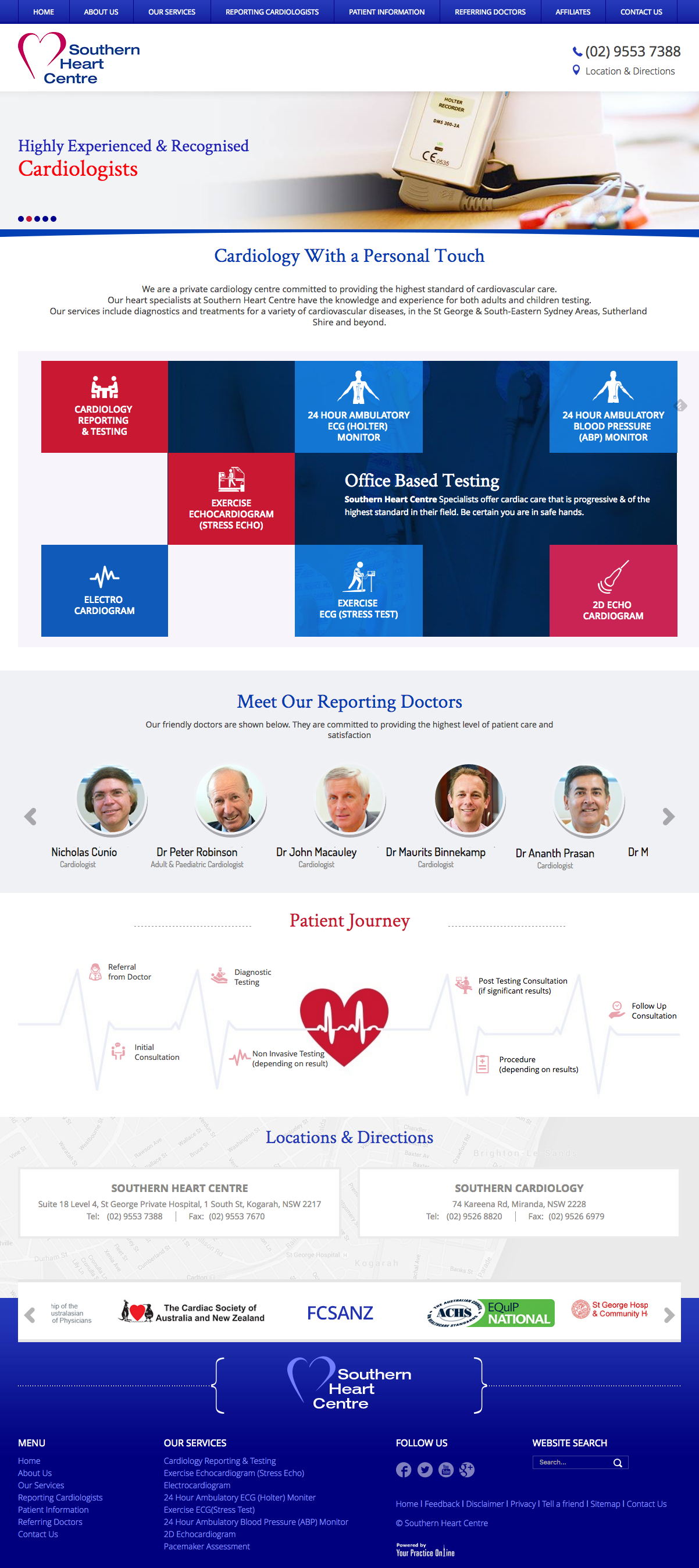 Website for Cardiologists