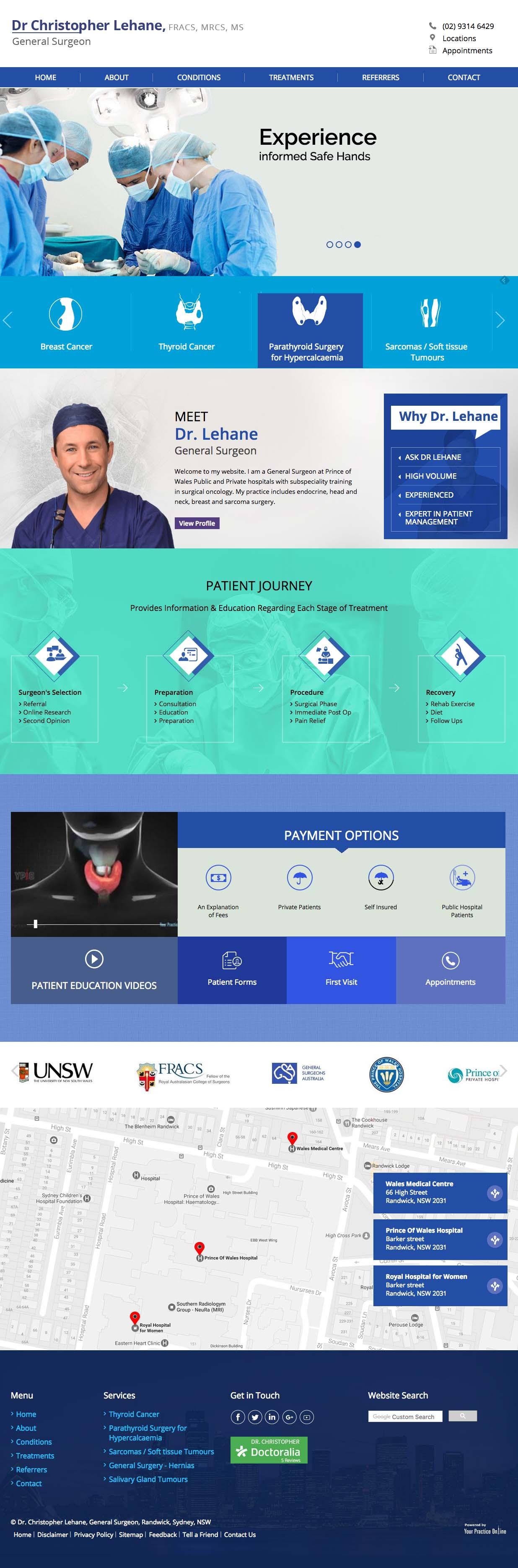 Website Design For General Surgeon Medical Marketing Blog